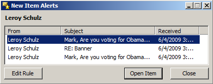 Outlook subject cutoff
